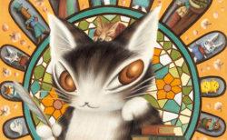 猫のダヤンの世界を体感できるニャ〜「池田あきこ原画展」8/15から横浜赤レンガ倉庫で開催