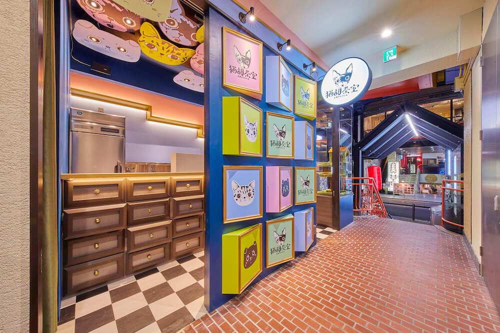 タピオカミルクティーの専門店「猫甜茶室(ねこてんちゃしつ) capioca(カピオカ)」の店舗外観イメージ
