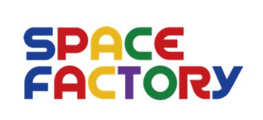 スペースファクトリー社のロゴ