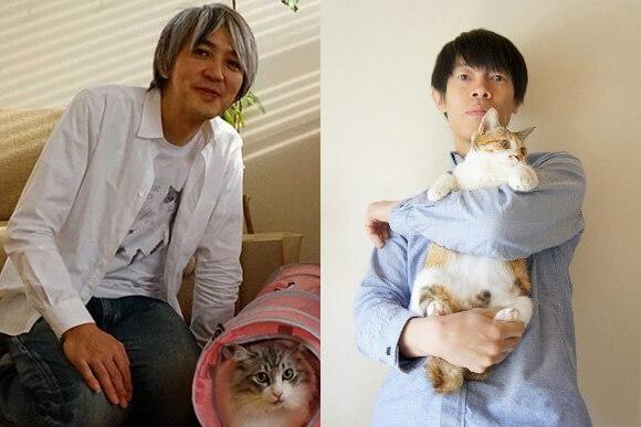 ネコ好きミュージシャンの近藤研二&山田稔明