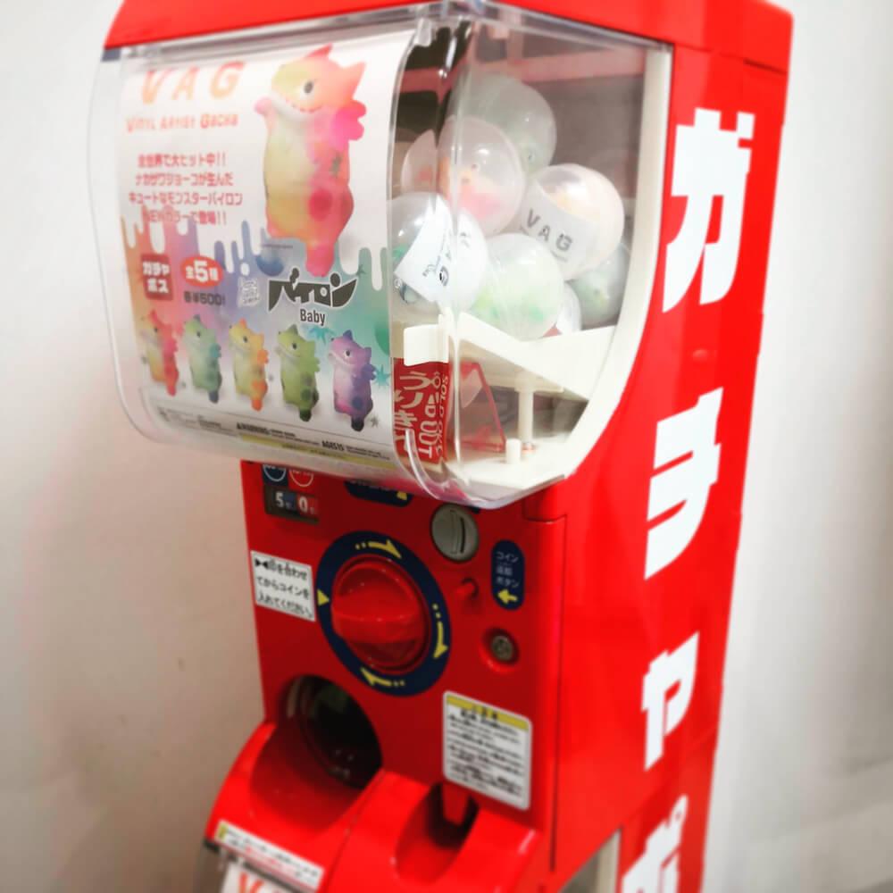 郵便局限定のカプセルトイ自販機ガチャポスの第2弾製品「バイロンBaby」