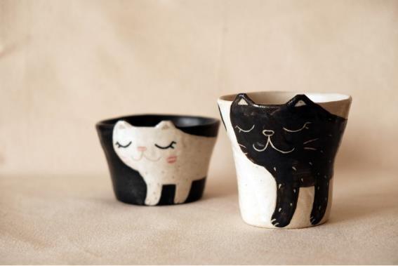 カザハナ窯のカップ