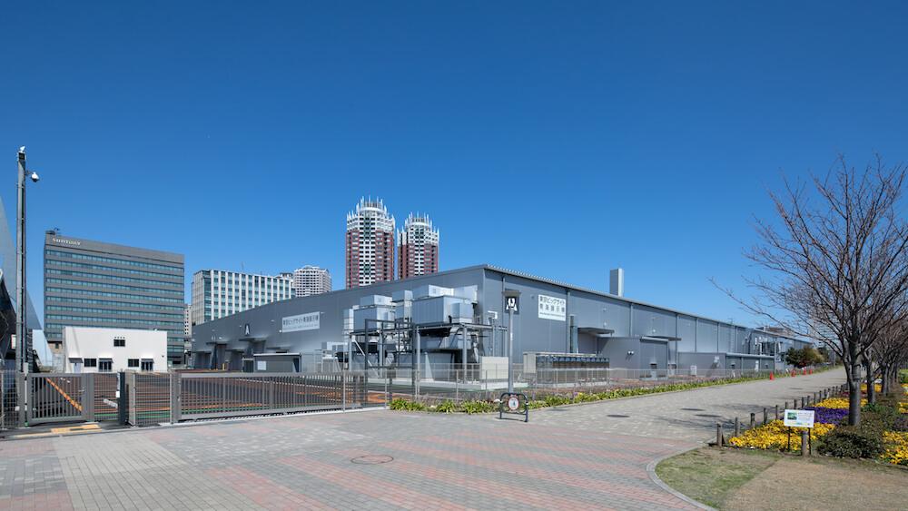 東京ビッグサイト 青海展示棟の外観イメージ