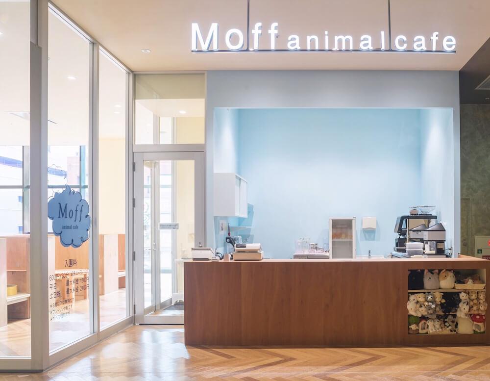 猫カフェMoff animal cafe(モフ アニマルカフェ)大分オーパ店の入口イメージ