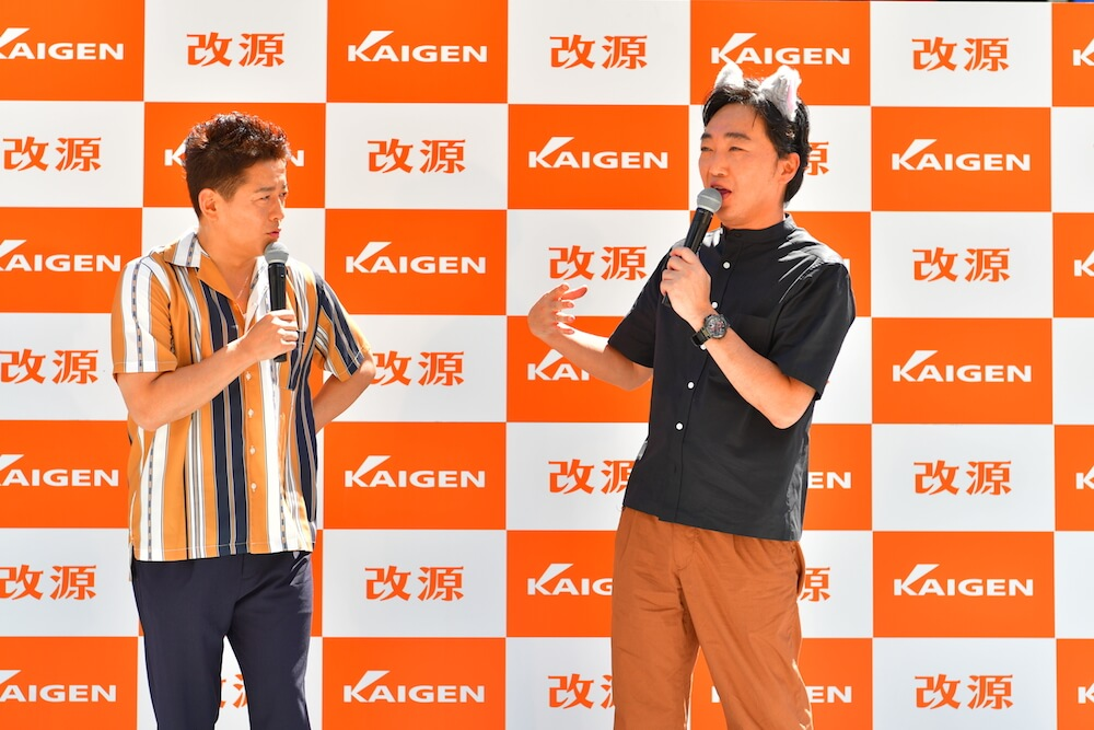 スピードワゴンの2人によるトークセッション by 風邪薬・改源のお披露目イベント
