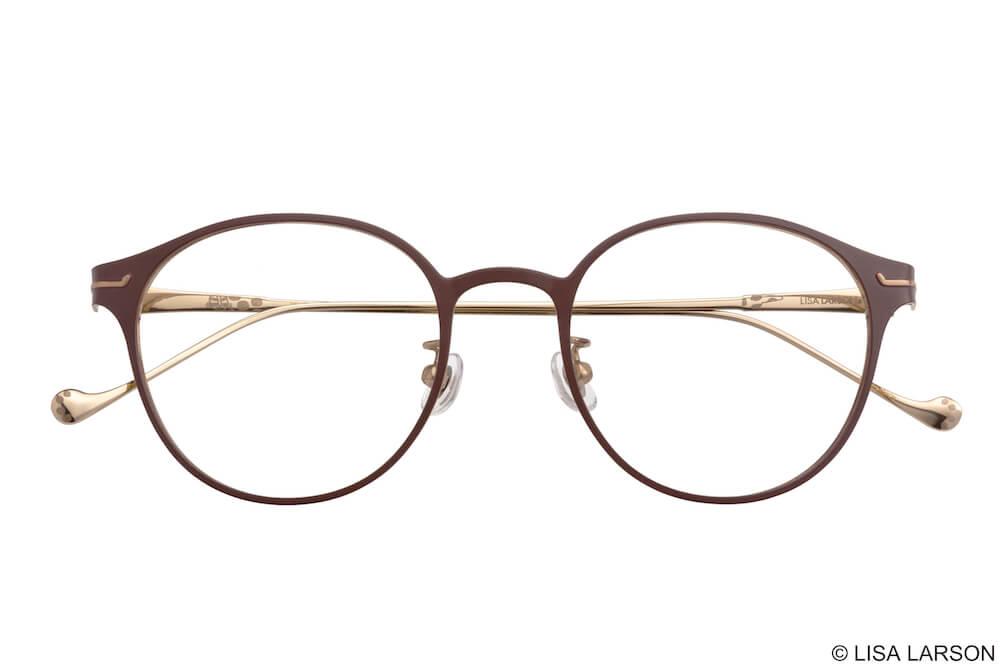 猫のマイキーのメガネ「Wire Craft(ワイヤークラフト)」の「Boston」フレーム