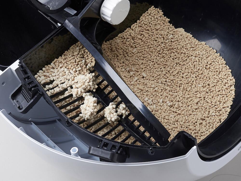 おからや木製の猫砂も使える全自動猫トイレ「CIRCLE 0(サークル ゼロ)」