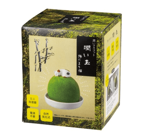 「潤いマスコット 潤い玉 陽だまり猫」の製品パッケージ