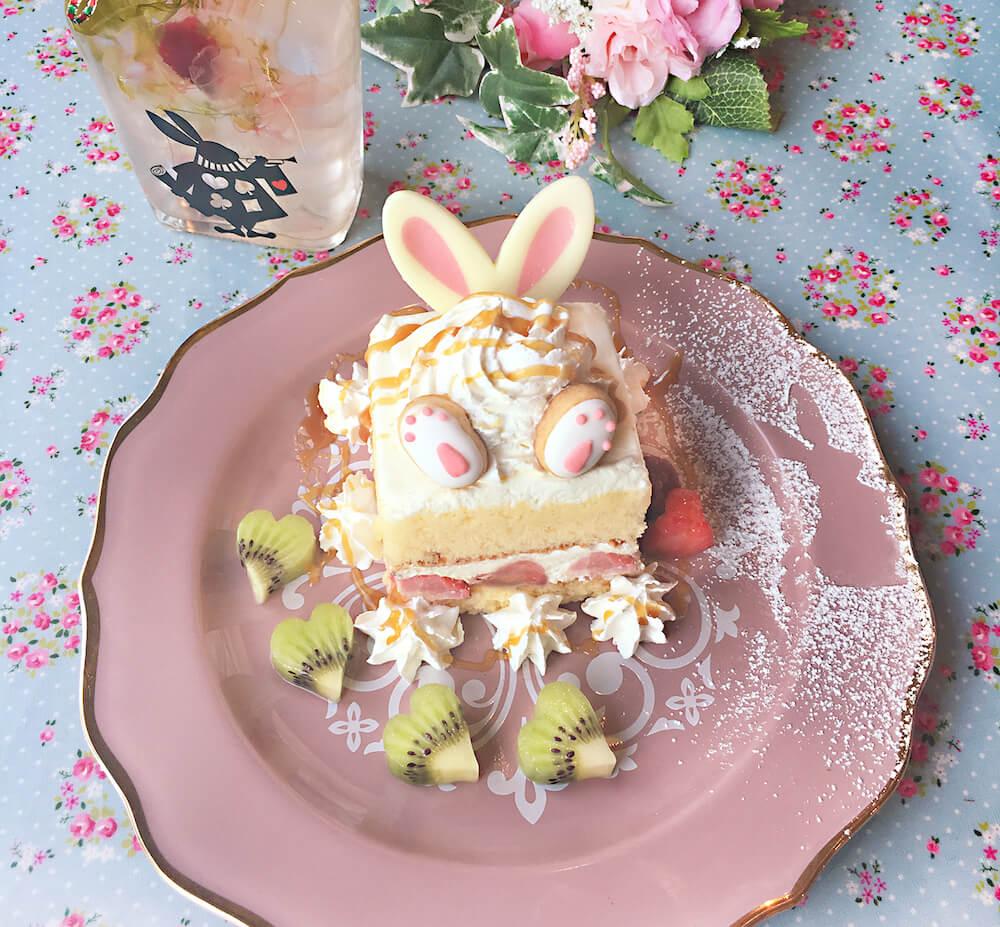 うさぎさんのショートケーキ by マイペリドットカフェ