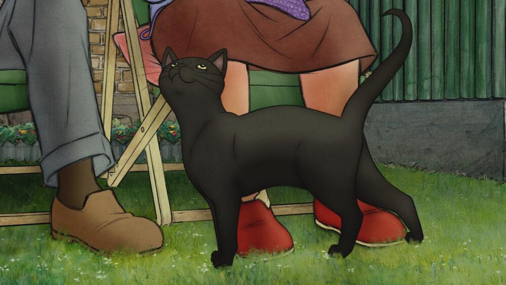 作品に登場する黒猫のスージー by アニメ映画「エセルとアーネスト ふたりの物語」