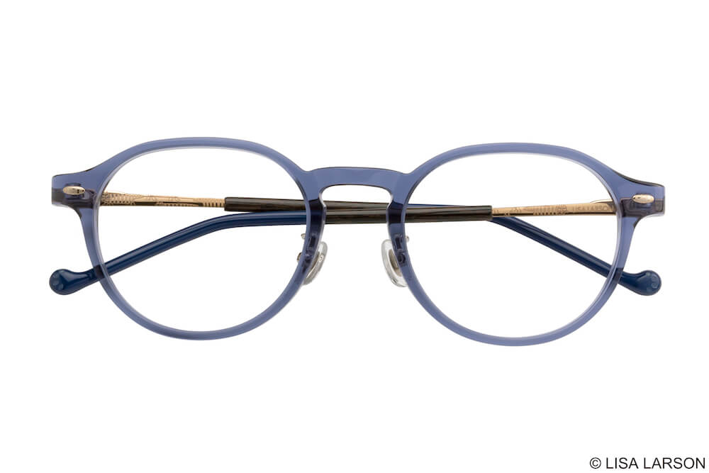 猫のマイキーのメガネ「Woody Block(ウッディブロック)」の「Crownpanto」フレーム