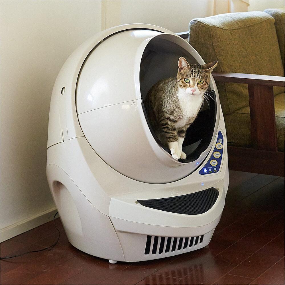 自動猫トイレ「キャットロボット Open Air」の製品イメージ