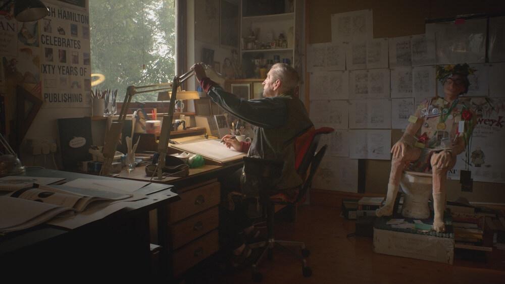 映画「エセルとアーネスト ふたりの物語」の作者で作中に登場するレイモンド・ブリッグズ