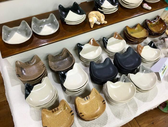 isaポタの猫皿