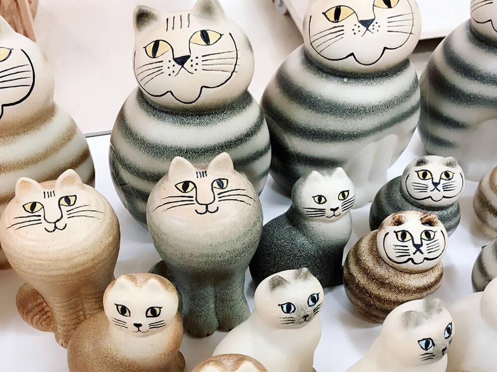 リサ・ラーソンが制作した猫のオブジェ by 北欧屋台