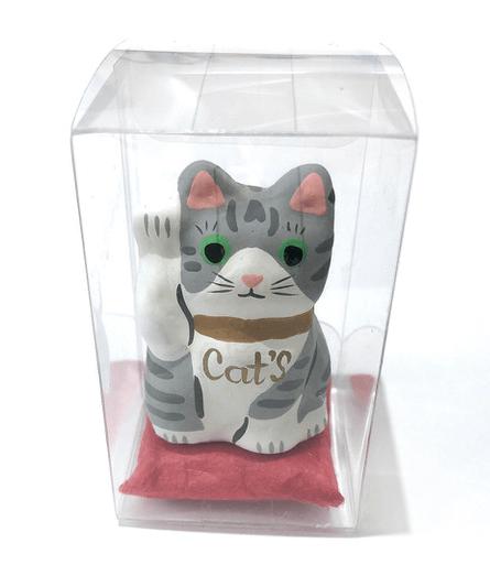猫のオブジェ by キャッツ・イシューのポップアップストア
