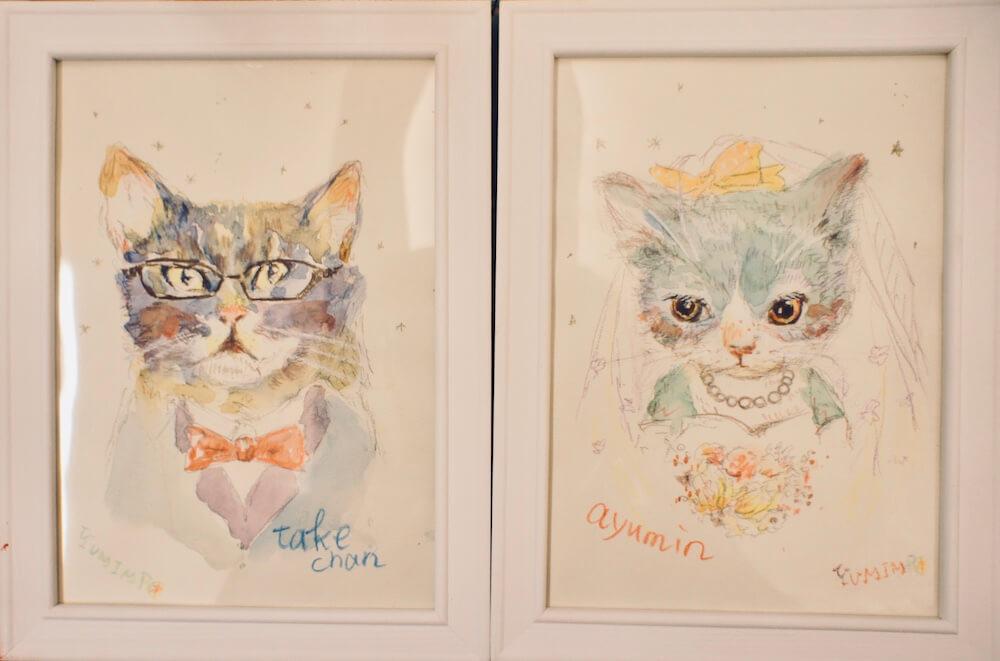 猫のイラスト作品 by YUMIMPO*(ゆみんぽ) 「猫そんなに好きじゃない展」
