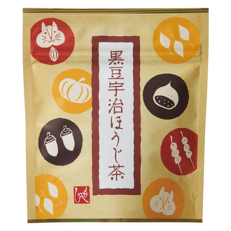 黒豆宇治ほうじ茶 by カルディの「粋な箸置きセット」