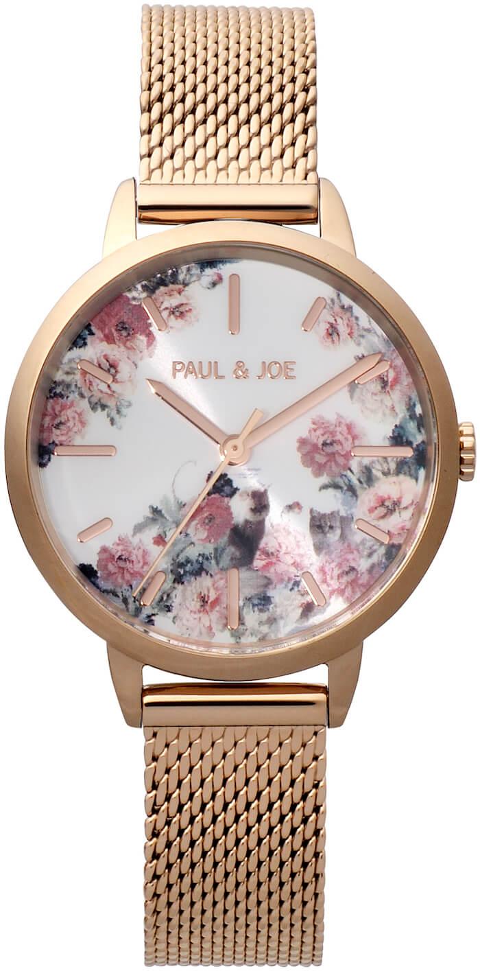 ポールアンドジョーの猫腕時「ピンクゴールド/Pink Gold」 Gipsy & Nounette(ジプシー アンド ヌネット)