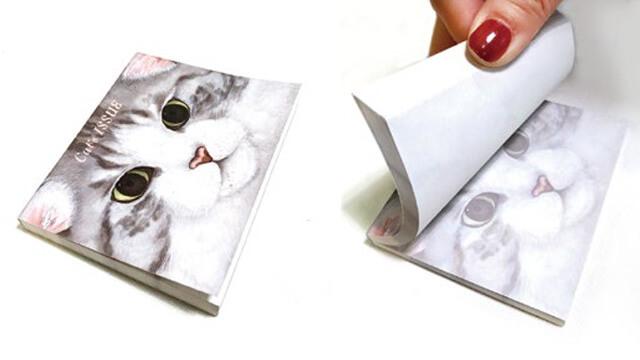 猫のメモ帳 by キャッツ・イシューのポップアップストア