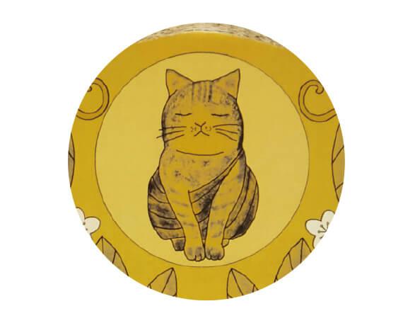 糞掃衣(ふんぞうえ)をまとった猫の仏像 by 光背つめとぎ