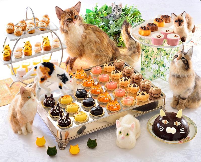 吉祥寺第一ホテルの猫スイーツバイキング