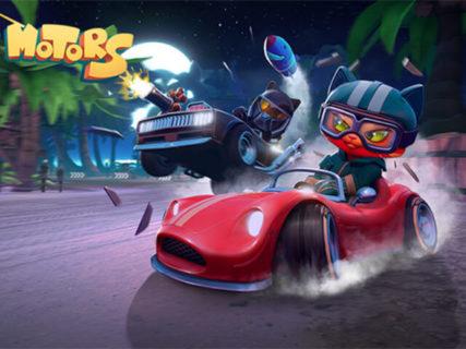 猫が運転するゴーカートでバトルを展開!ネコ好き向けレースゲーム「Meow Motors」