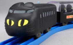 これは大人でも欲しい…チャルメラの黒猫をモデルにしたプラレール「くろネコのにゃーにゃートレイン」