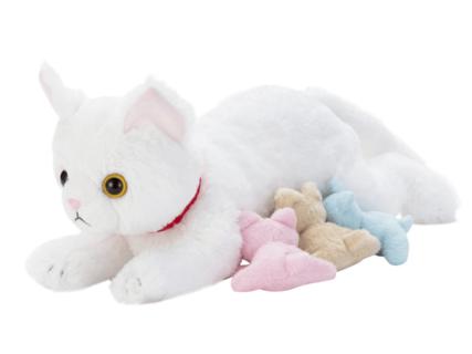 ついに発売開始!猫のお産と授乳を体験できる新感覚おもちゃ「ねこ産んじゃった! 」