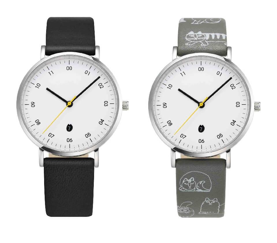 リサ・ラーソンの腕時計「SKETCH」モデル by ノルディックフィーリング