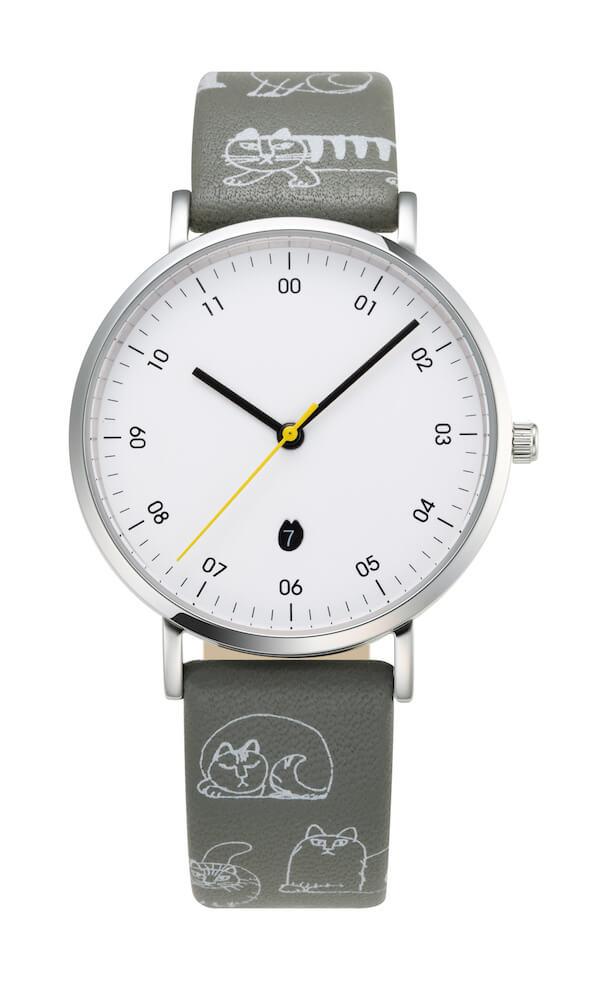 リサ・ラーソンの腕時計「SKETCHモデル」絵柄付ストラップ by ノルディックフィーリング