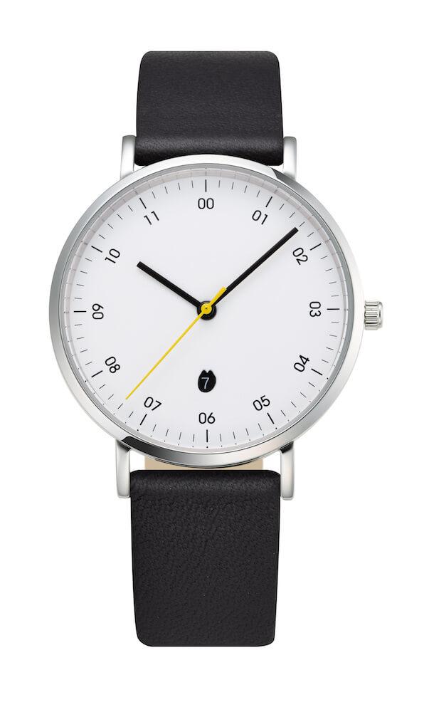 リサ・ラーソンの腕時計「SKETCHモデル」無地ストラップ by ノルディックフィーリング