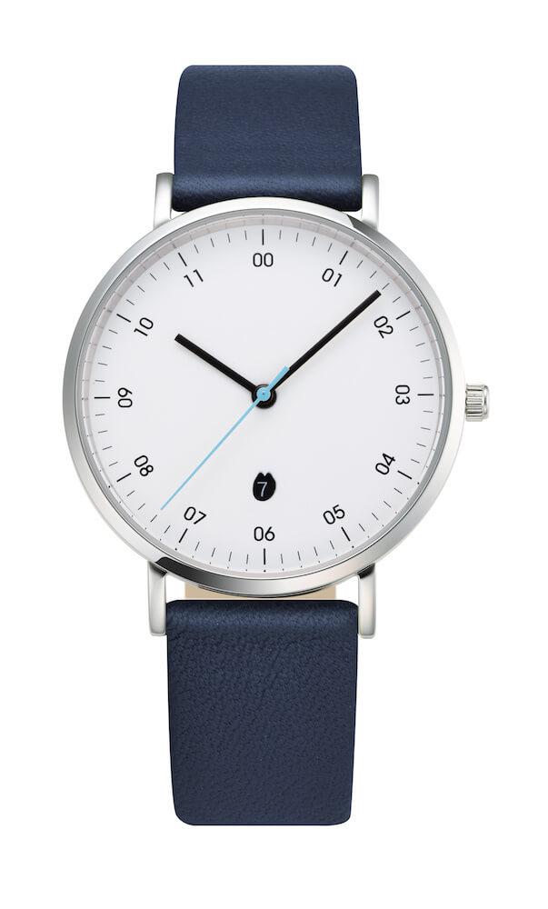 リサ・ラーソンの腕時計「HEDGEHOGモデル」無地ストラップ by ノルディックフィーリング