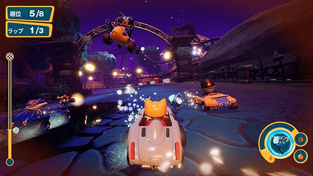 ゲームのレースバトルイメージ by Meow Motors(ミャウモーターズ)