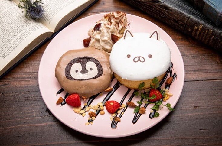 ショコラモンブランパンケーキ by ねこぺんBOOK CAFE