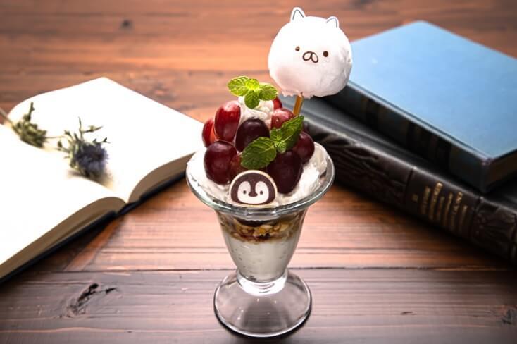 コットンキャンディーパフェ by ねこぺんBOOK CAFE