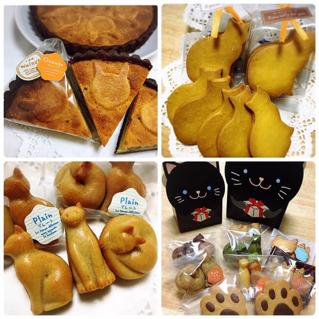 猫タルトや猫クッキーなど by お菓子屋ニャンライズ