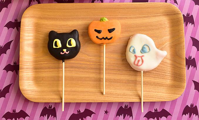 団子メーカーが開発したハロウィン用の商品「チョコマント ハロウィンParty」