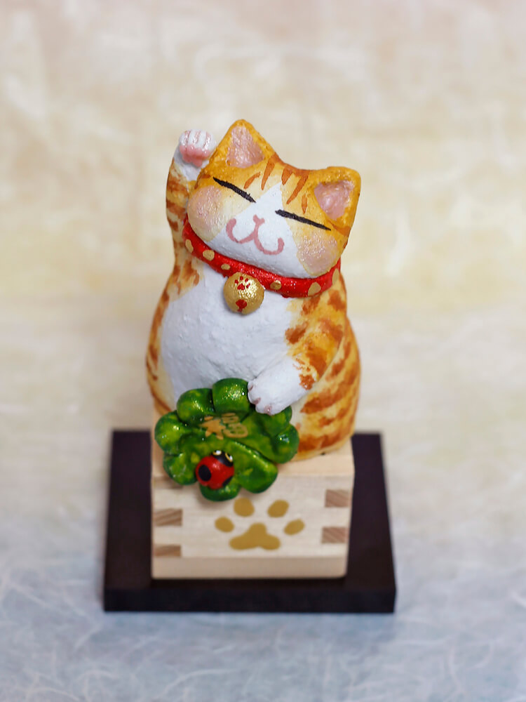 招き猫 by 和猫路