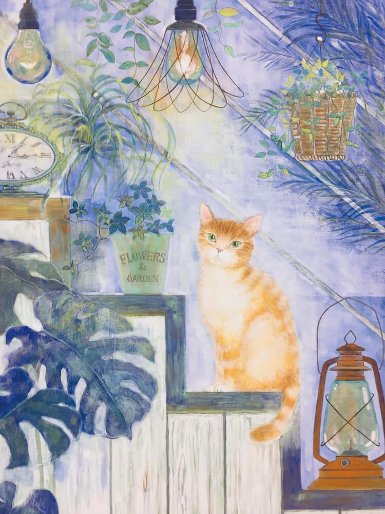 猫の絵画作品 by 荒井克子(日本画家)