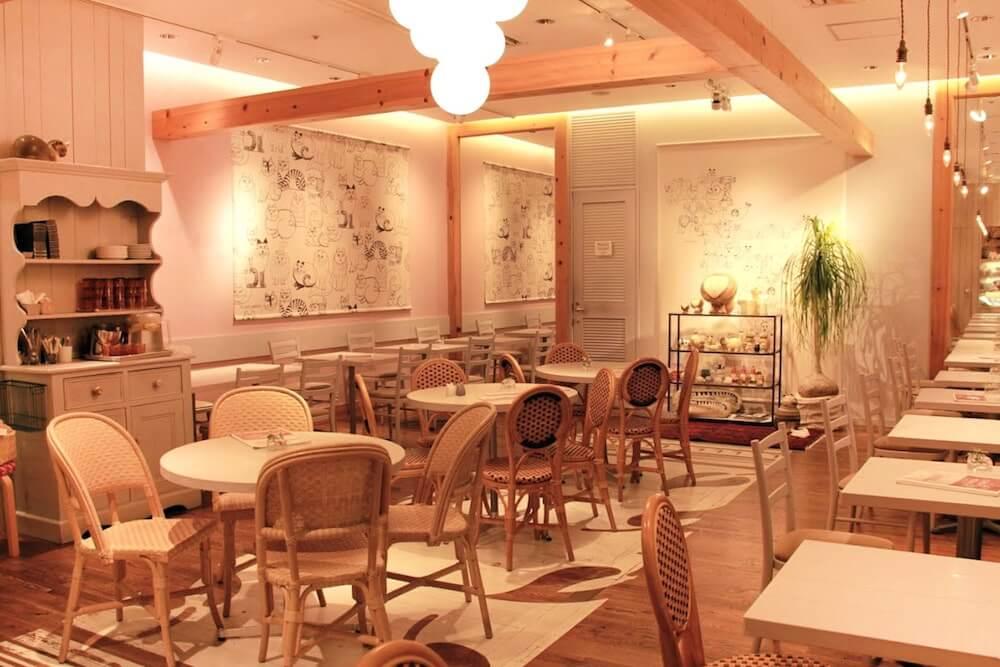 リサ・ラーソンのコラボカフェ「LISA LARSON Fika TOKYO」の店内イメージ by マロニエゲート銀座1