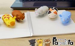 猫ちゃんモデルは2種類!動物フィギュアのようなボディにハンコを収納できる「パペッタ」