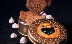 ささやかな贈り物にピッタリにゃ♪ 黒猫の可愛いお菓子缶がフェアリーケーキフェアから登場