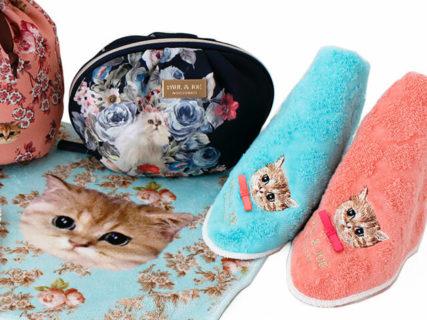 オシャレなねこ雑貨が勢揃い♪ ポールアンドジョーの秋冬シーズン猫アイテムを一挙に紹介するニャ