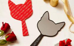 かわいいネコ耳型のハンドミラーをプレゼント!レイジースーザンのお店でクリスマスキャンペーンを実施中