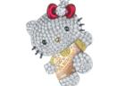 お値段はニャンと2,000万円超え!ハローキティの豪華ダイヤモンドジュエリーが発売されるニャ