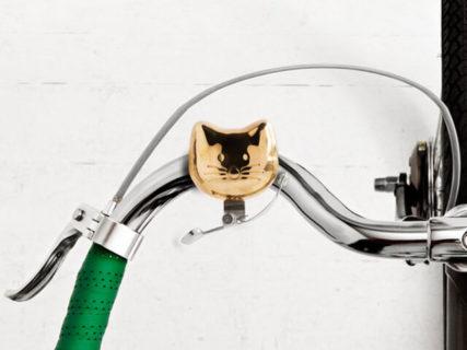 にゃりーんと鳴る!?可愛いネコ型の自転車ベル「キャットバイクベル」が日本でも発売