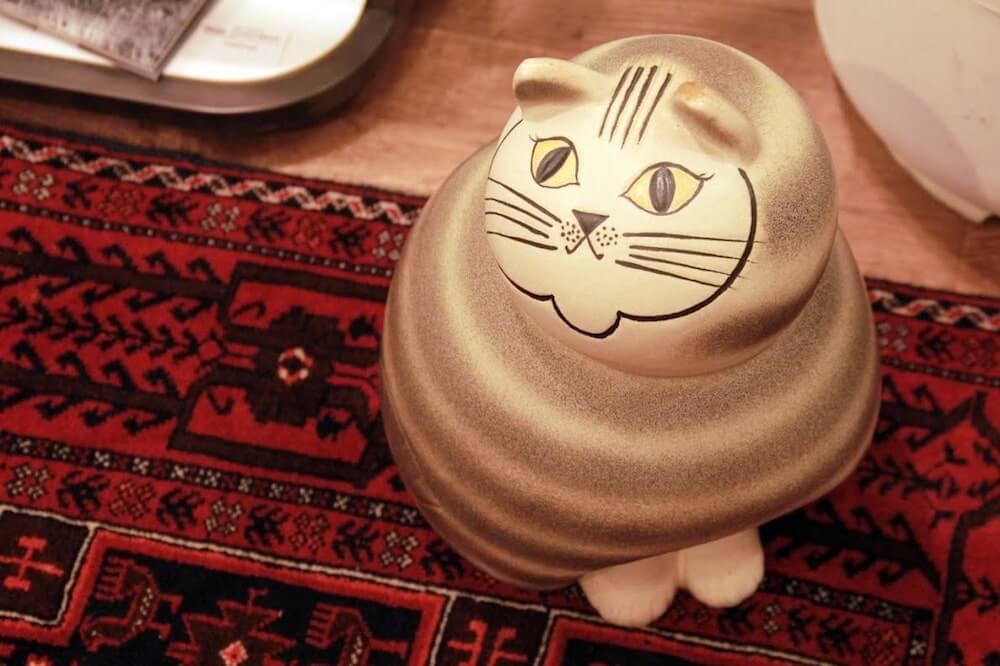リサ・ラーソンの猫をモチーフにした陶芸作品を展示 by LISA LARSON Fika TOKYO