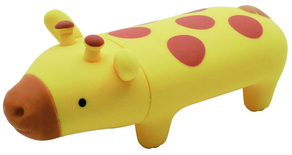 動物ハンコ収納ケース・パペッタの「きりん」モデル