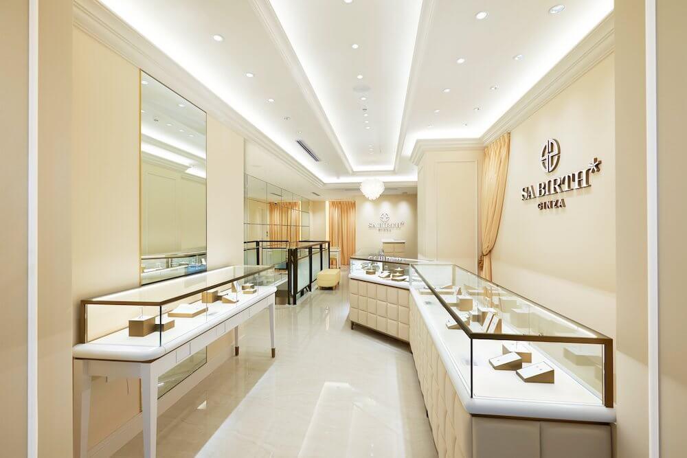 SA BIRTH GINZA(サバース銀座)の本店内部イメージ